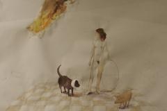 lady-and-dog