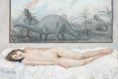 Under The Brontosaurus Painting